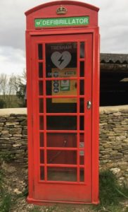 Our Defibrillator is Here