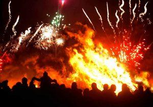 Bonfire and Fireworks Nov 2019