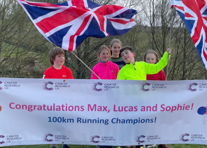 Lucas & Sophie's Big Run to Beat Cancer